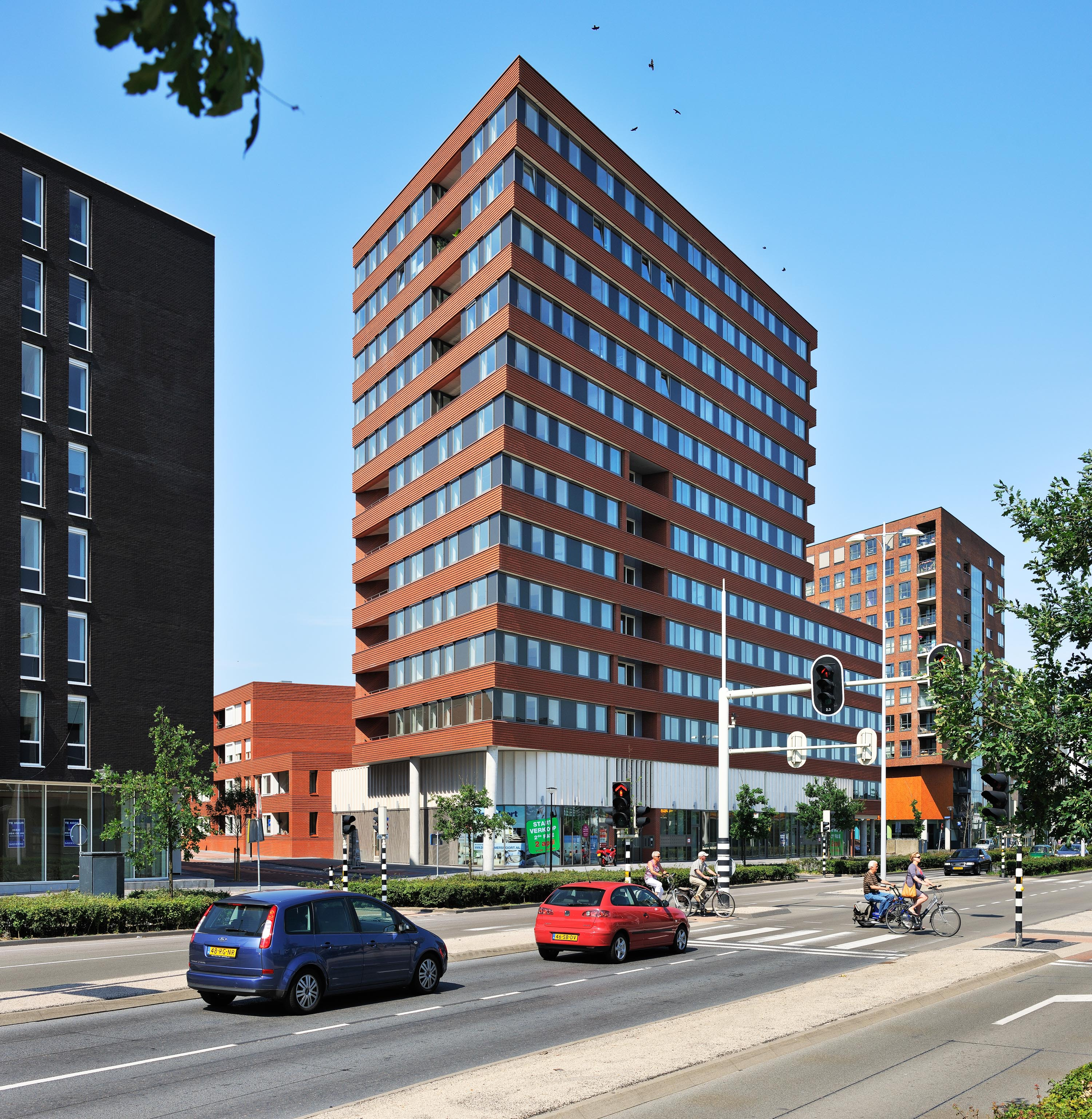 werk van architectenbureau Rudy Uytenhaak; Puntenburg, Amersfoor